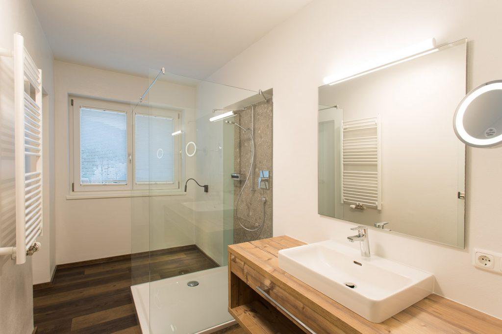 HeaderSlider Appartements Badezimmer