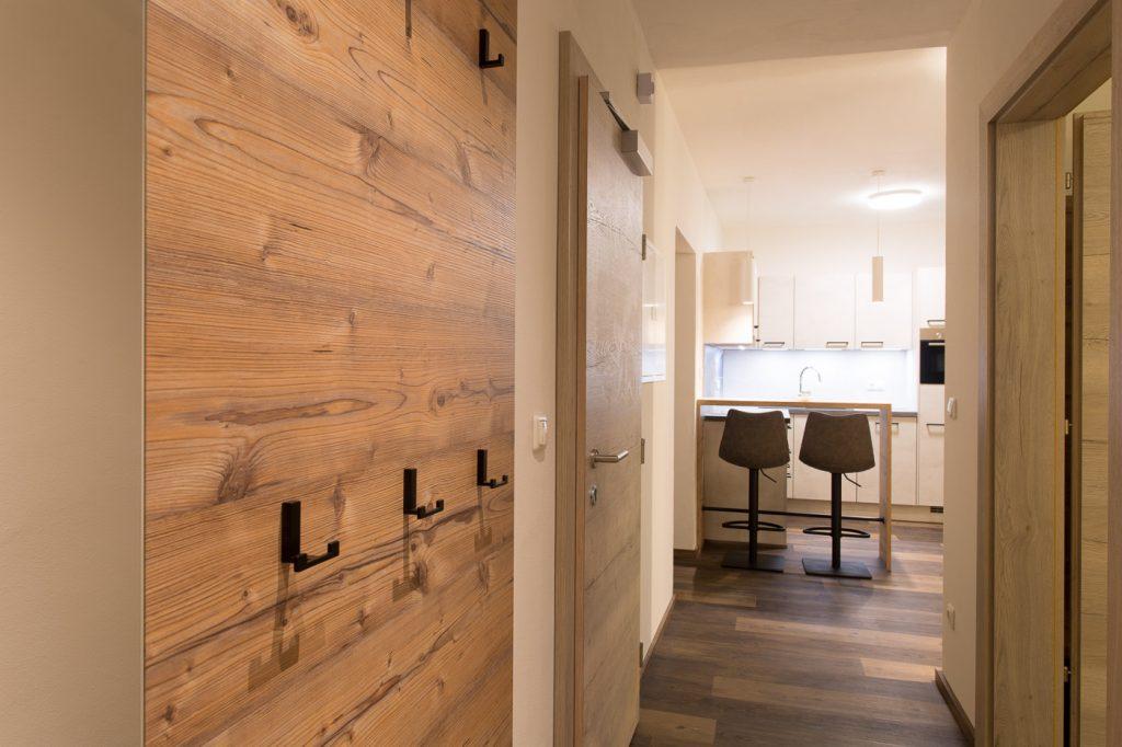 HeaderSlider Appartements Blick Küche