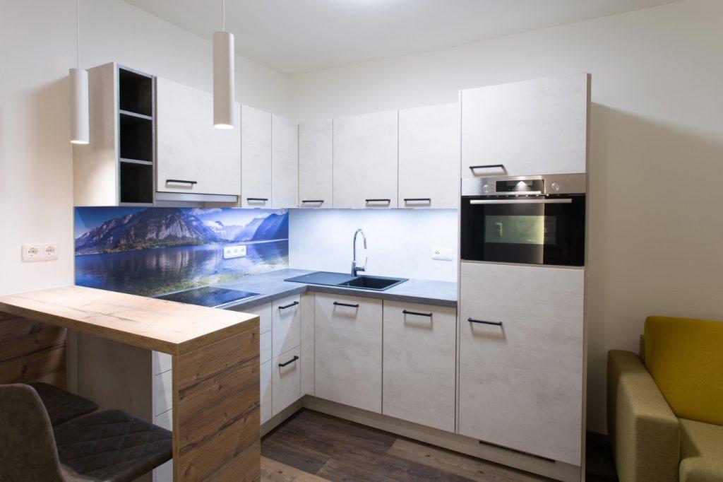 HeaderSlider Appartements Wohnküche